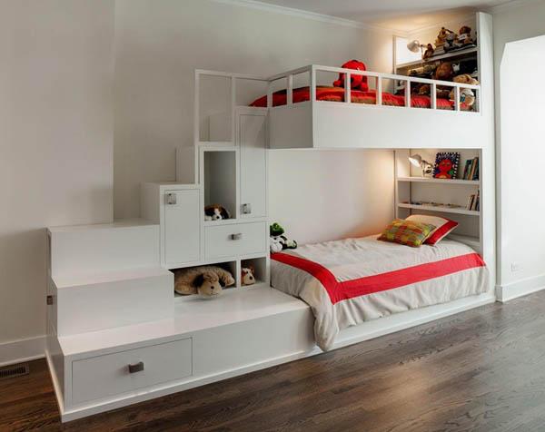 Дизайн в детской комнате узкой планировки