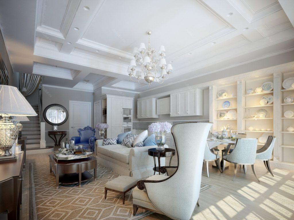 Американская классическая гостиная