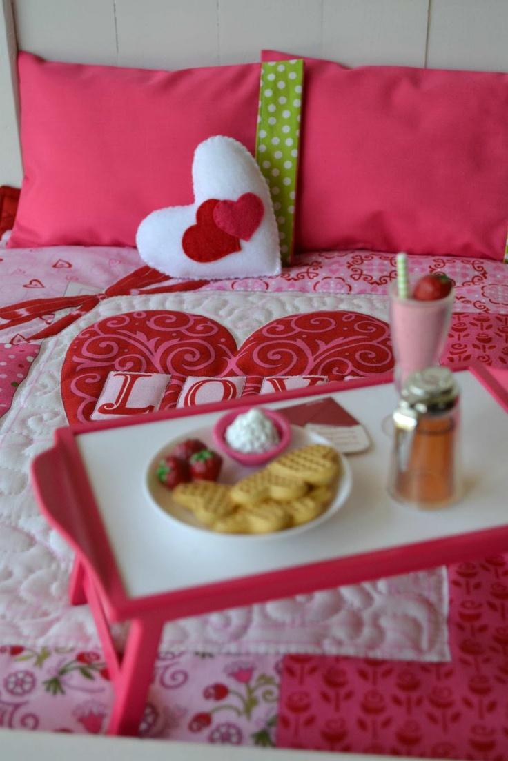 Романтический декор постельного белья