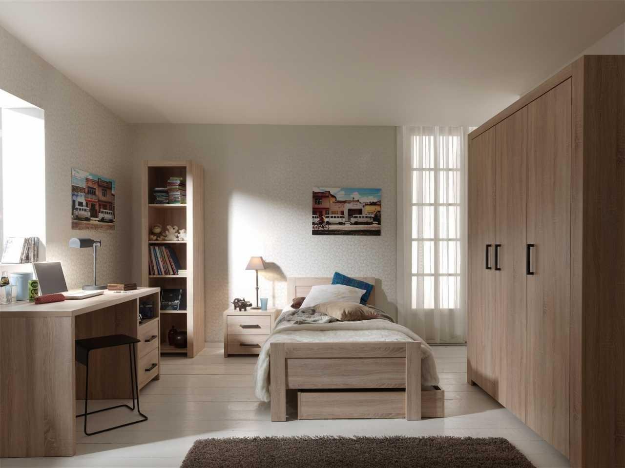 Дизайн комнаты для подростка из дерева