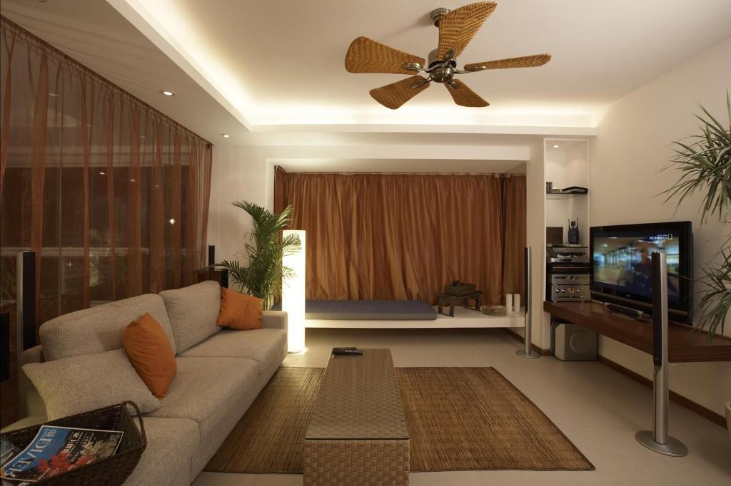Дизайн гостиной в экостиле