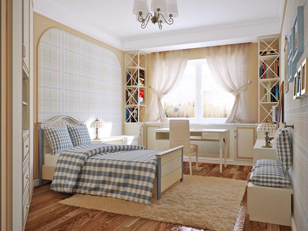 Комната для подростка в стиле прованс