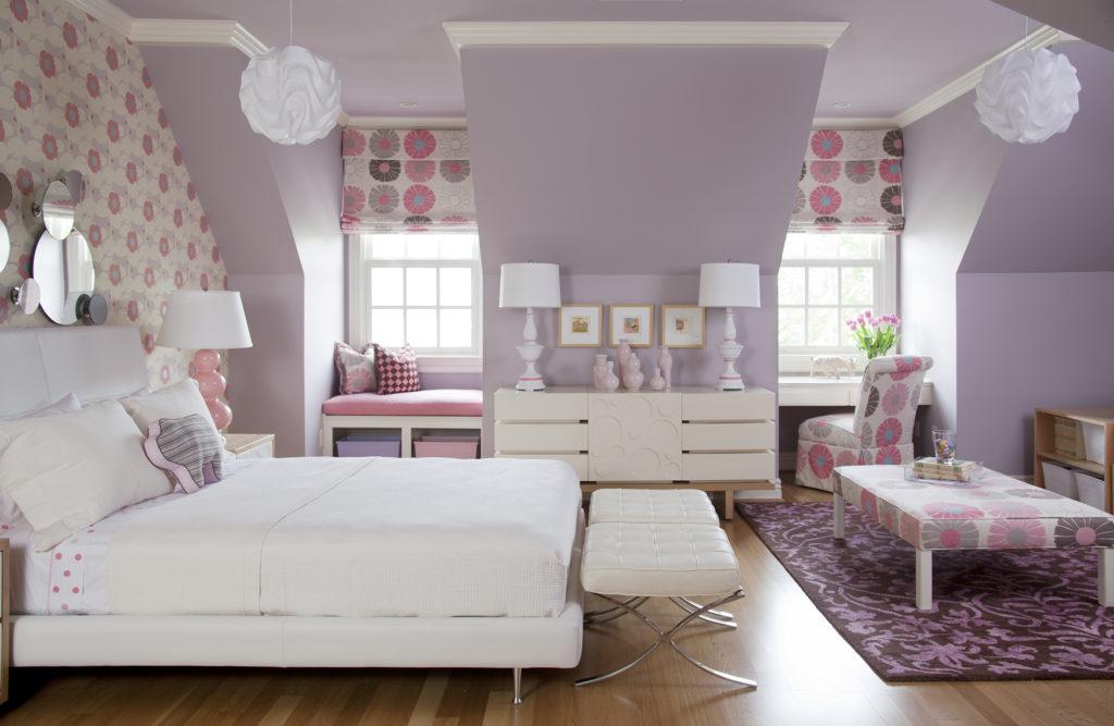 Красивый дизайн комнаты для девочки подростка