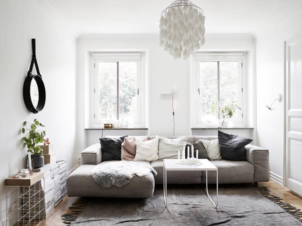 Естественный свет - лучшее средство увеличения пространства