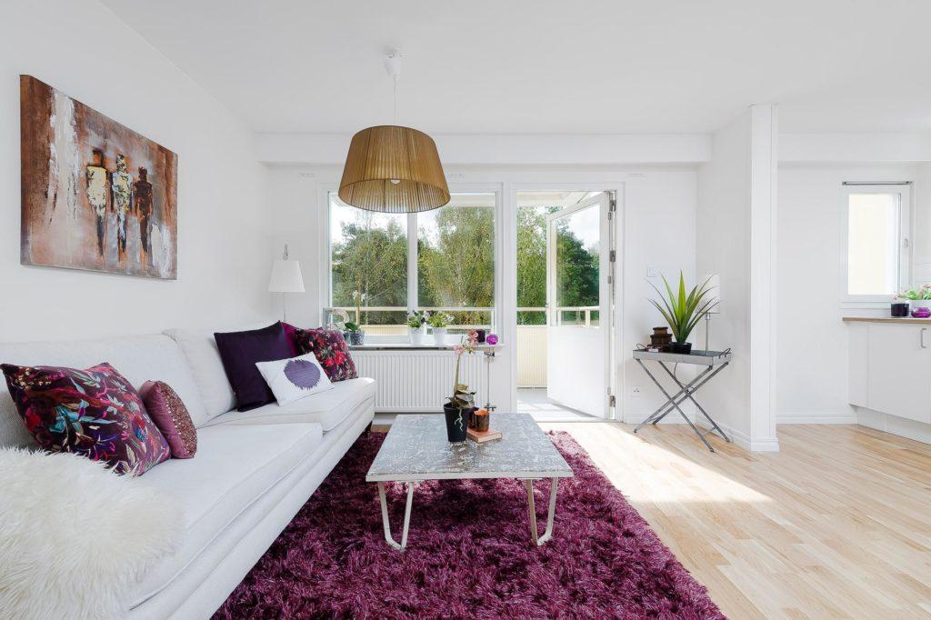 Картина для гостиной в скандинавском стиле
