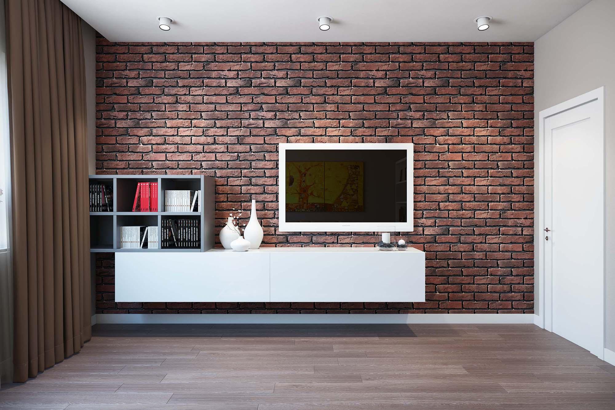 Кирпичная стена в интерьере (56 фото): красивые сочетания в оформлении дизайна