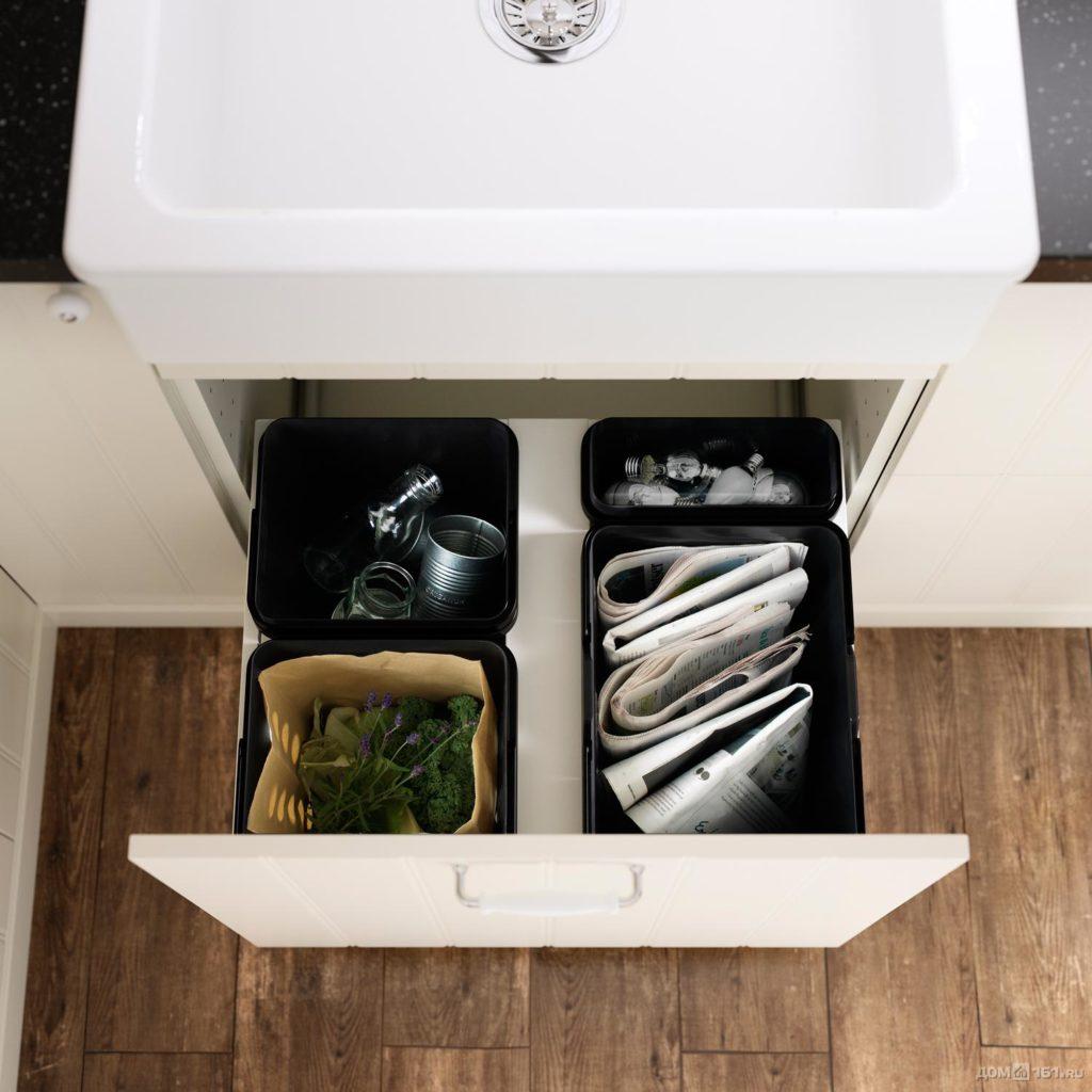 Система хранения в кухонном ящике