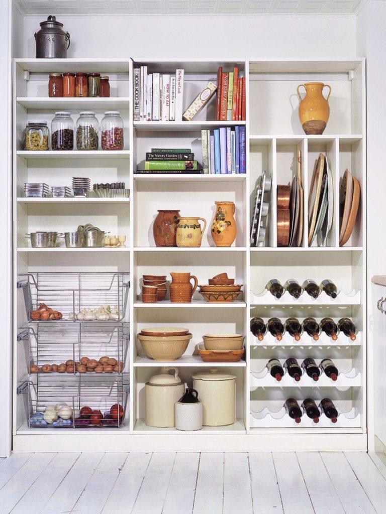 Удобная система хранения для кухни