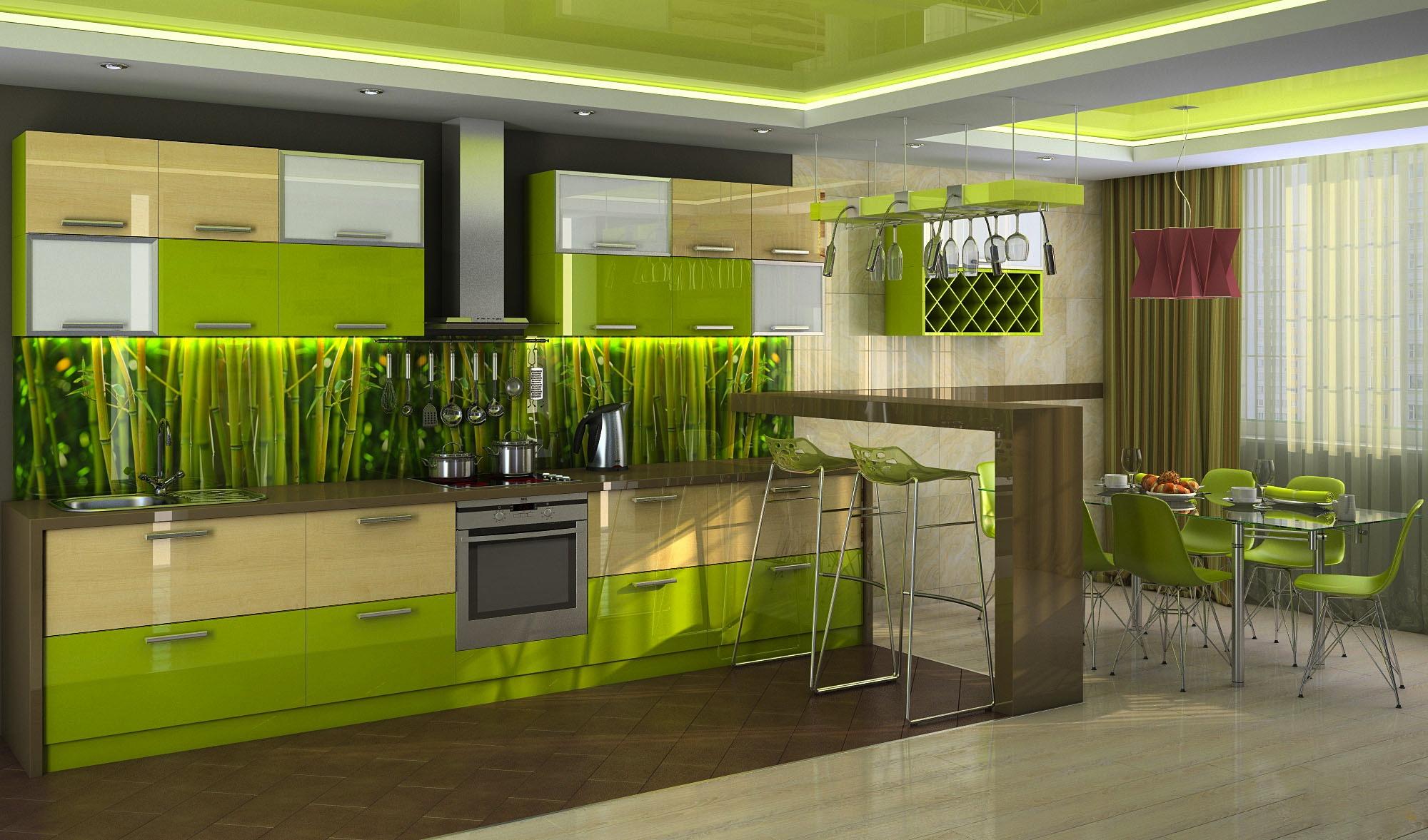 Бамбуковая кухня фото