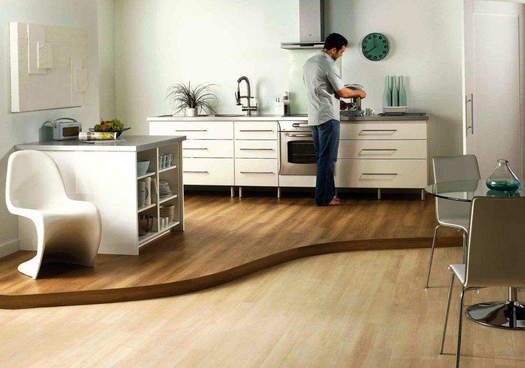 Кухонные полки значительно экономят место