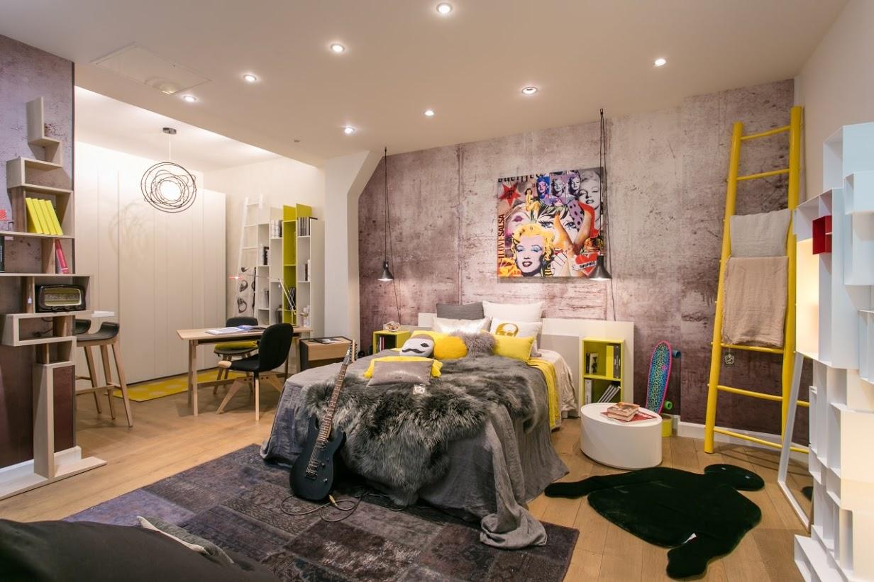 Дизайн комнаты для подростка лофт