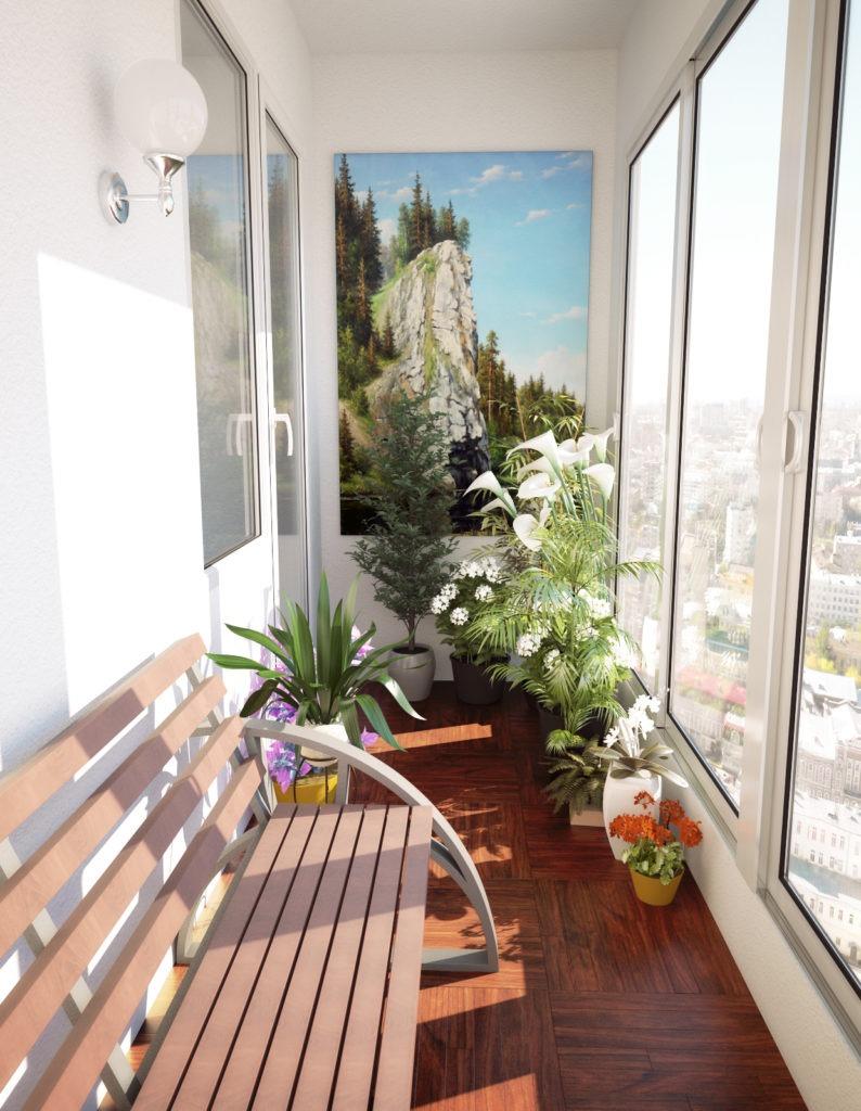 Также балкон может стать прекрасным местом для расслабления