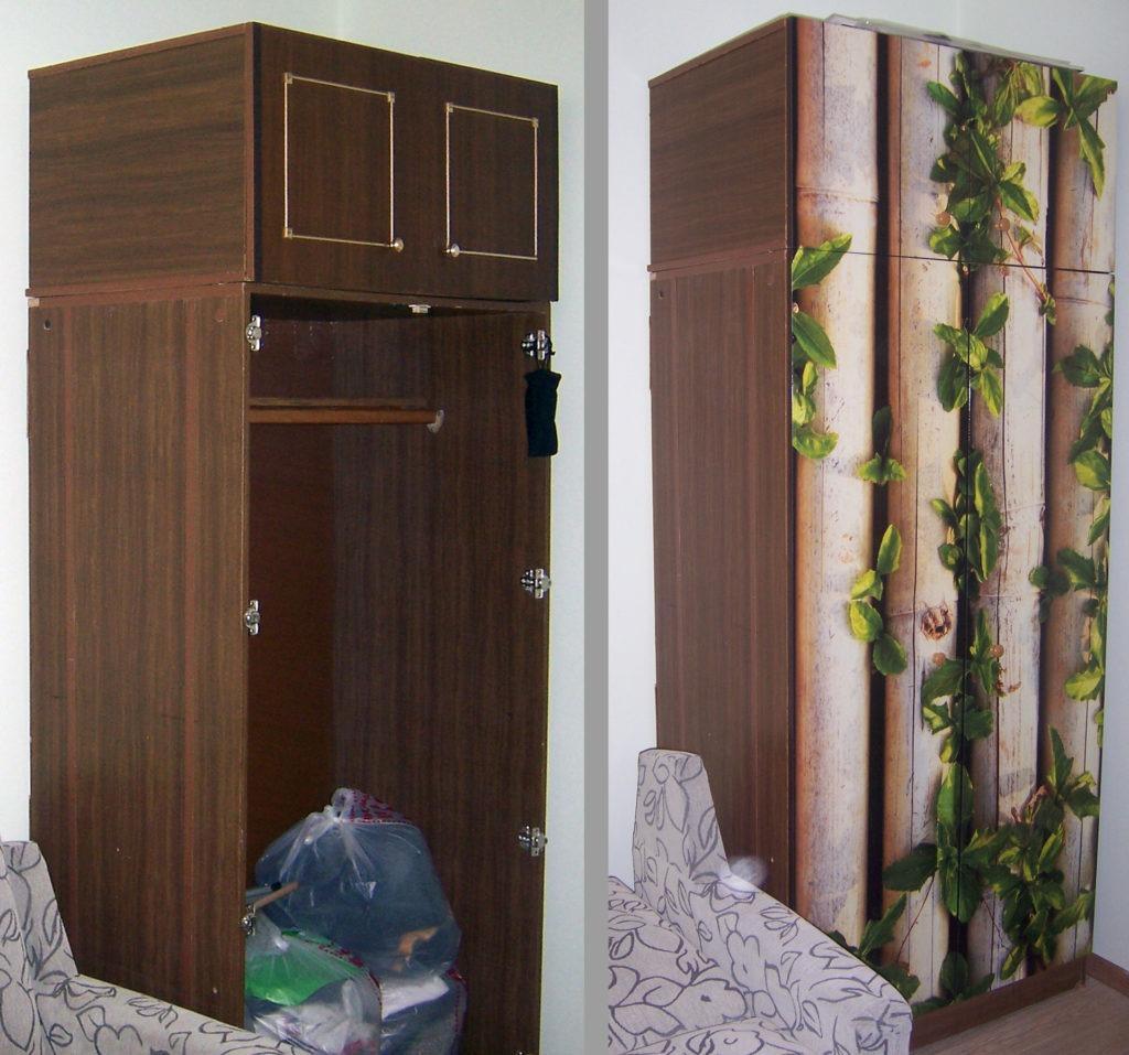 Обновление шкафа для одежды