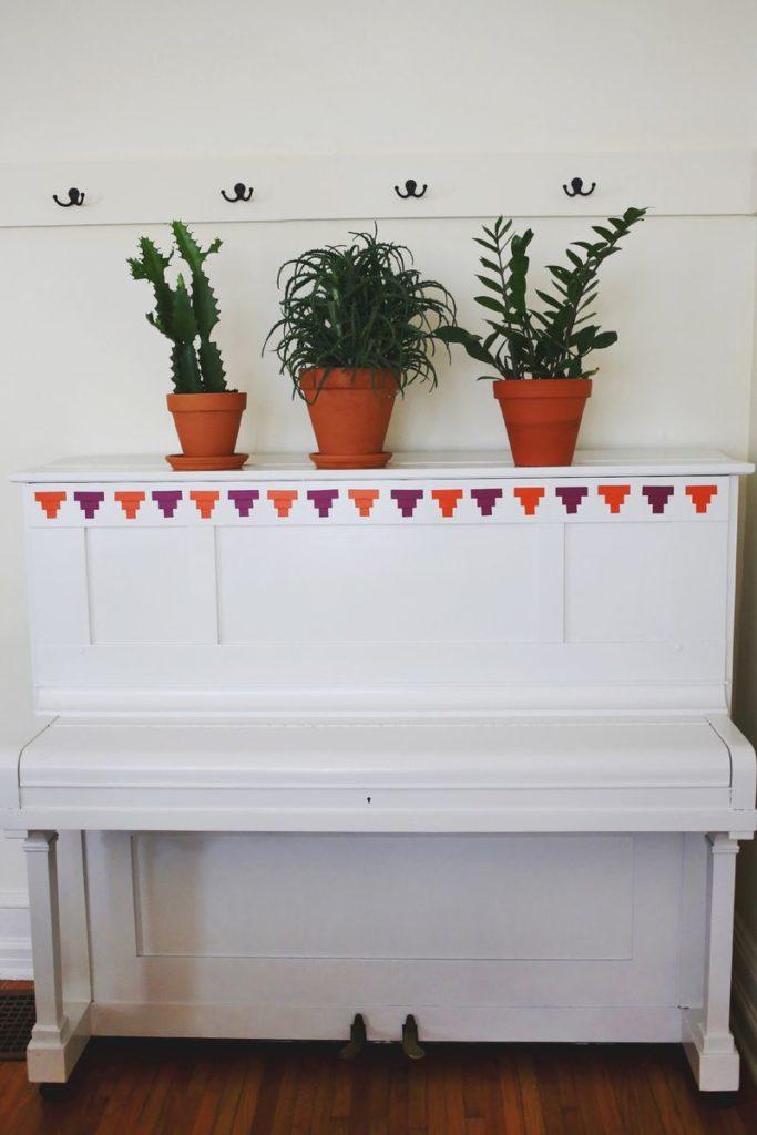 Обновленное старое пианино