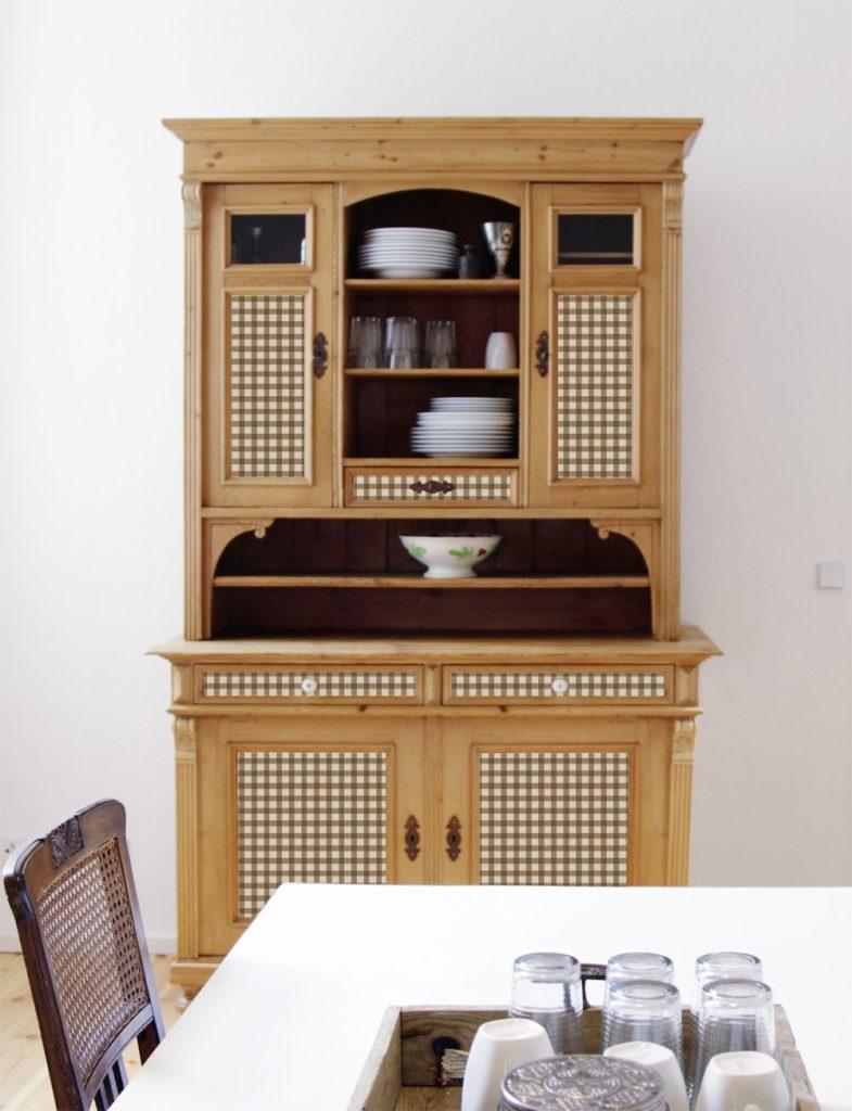 Обновленный кухонный шкаф