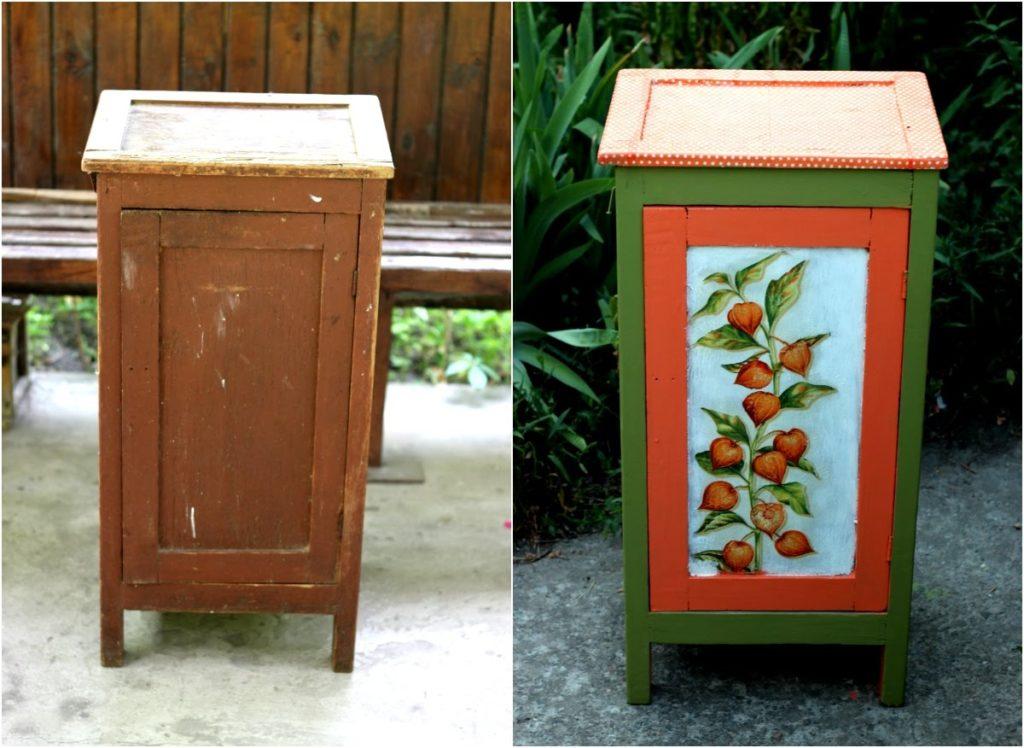 Обновление маленького шкафчика