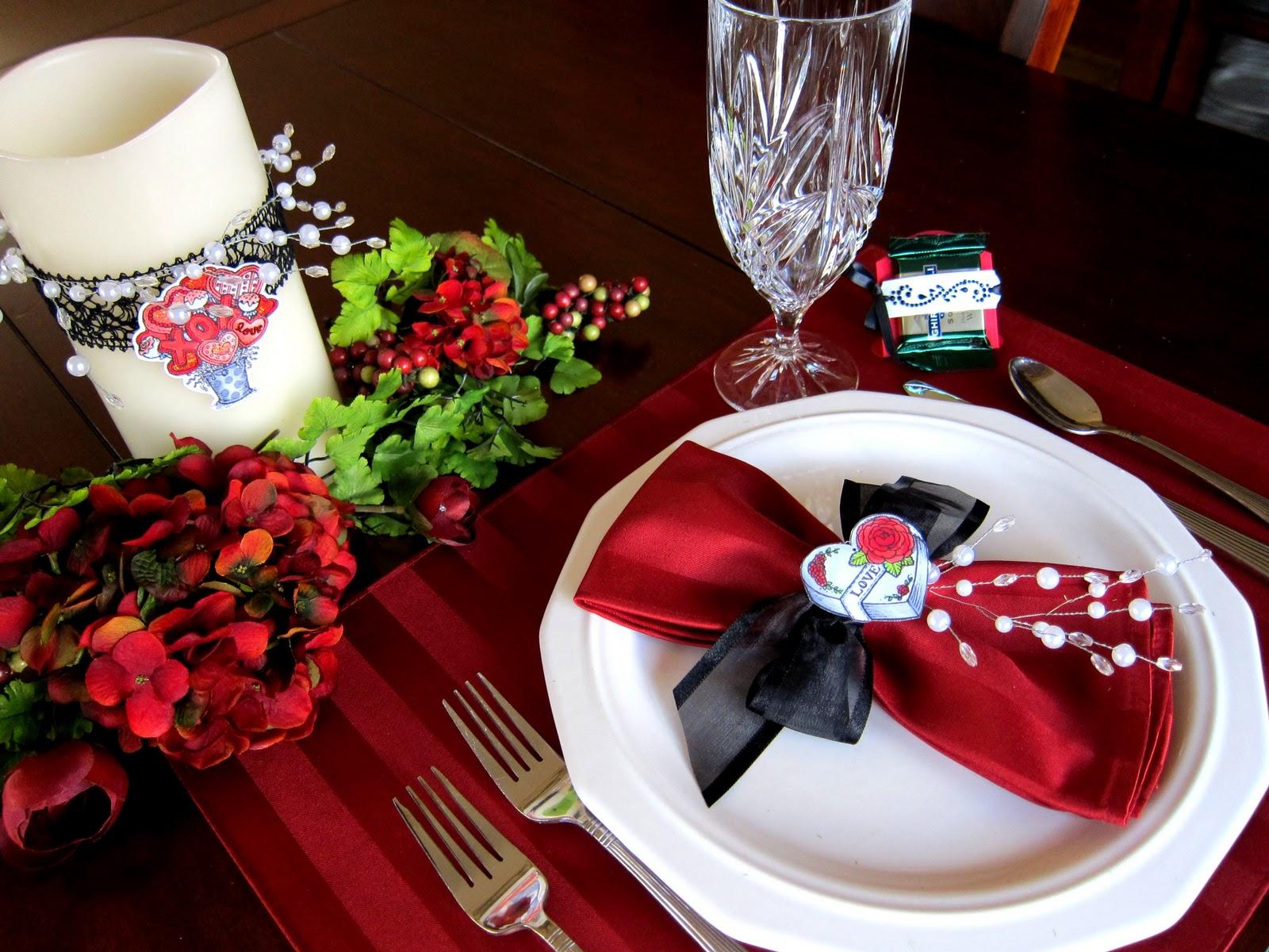 Романтический декор на праздник