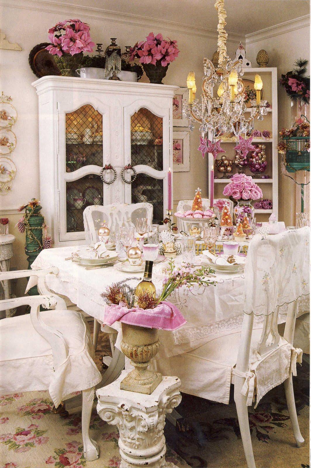 Романтический декор в стиле прованс