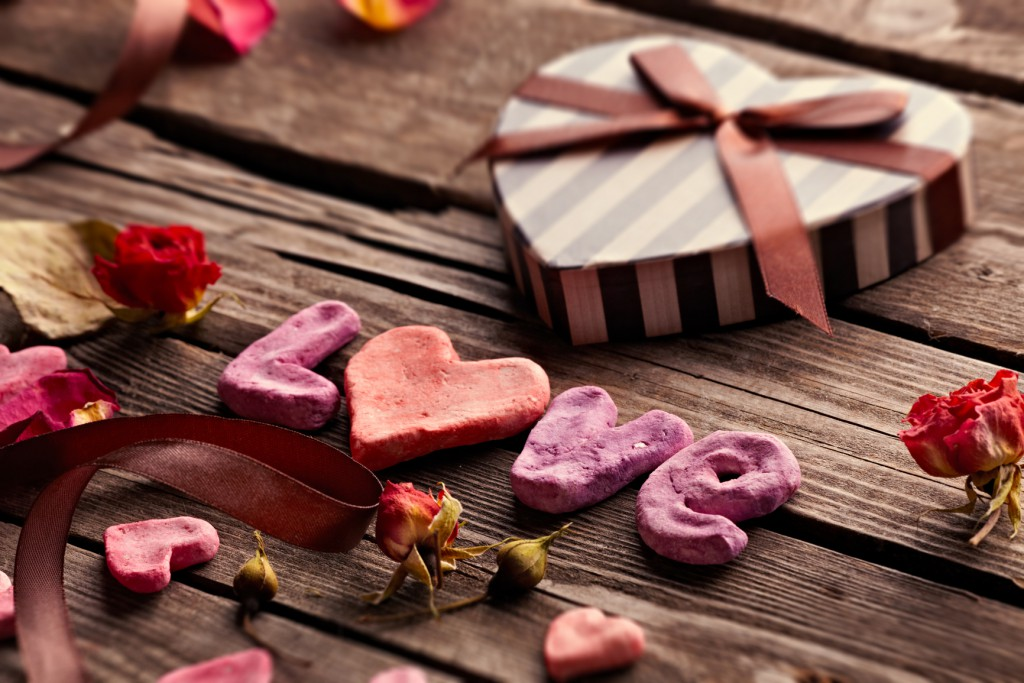 Милый декор для романтического ужина