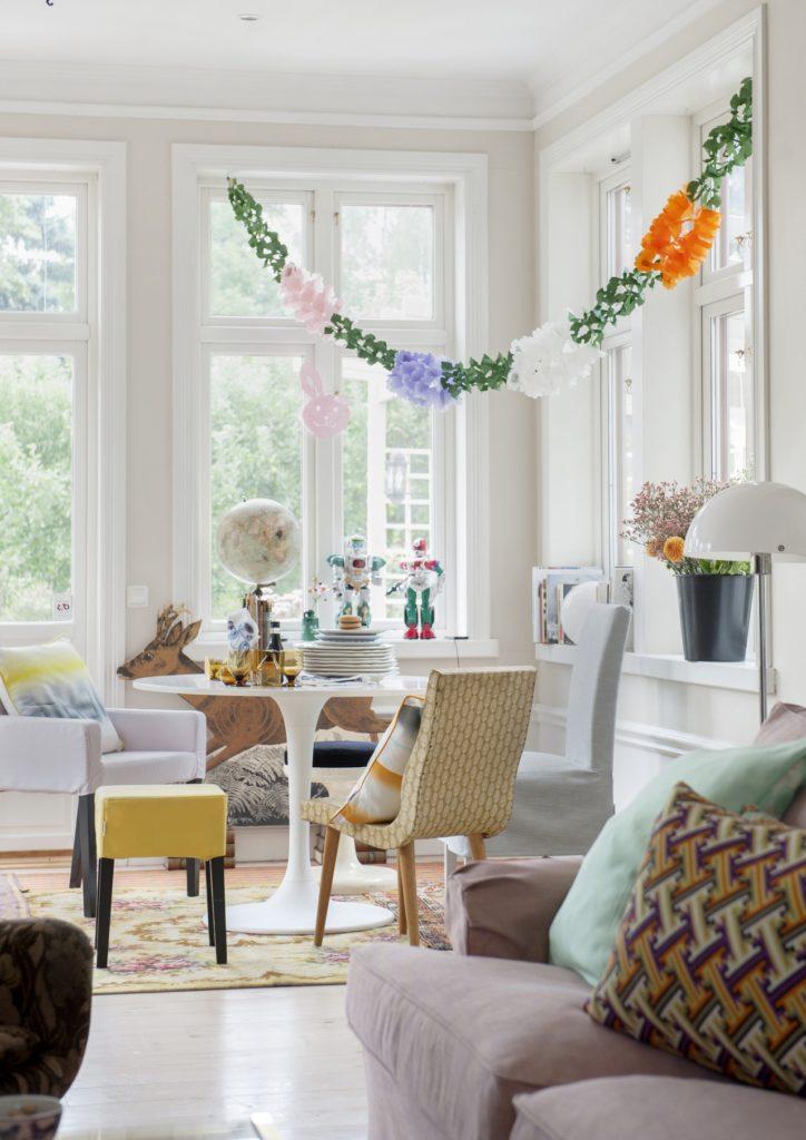 Украшения для гостиной в скандинавском стиле