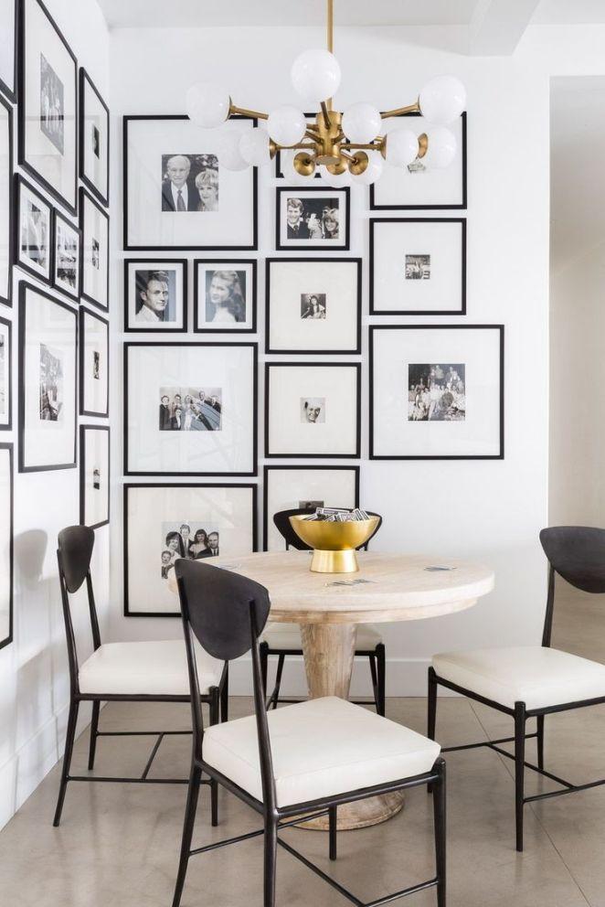 Картины в интерьере столовой