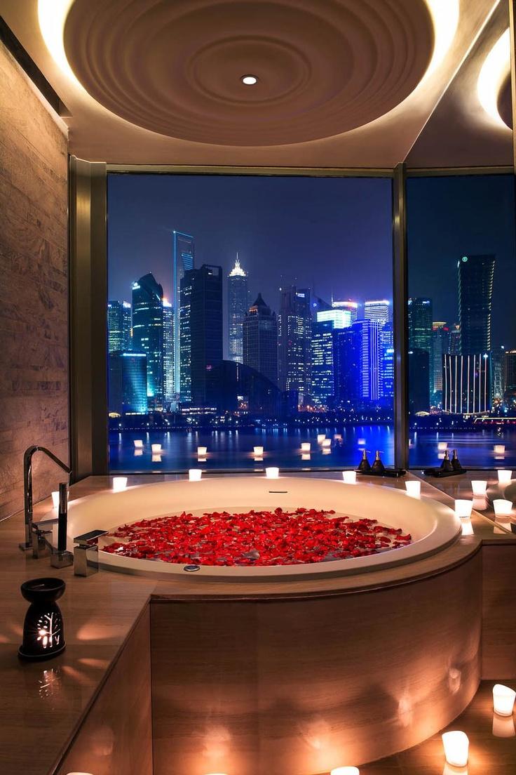 Романтический декор ванной