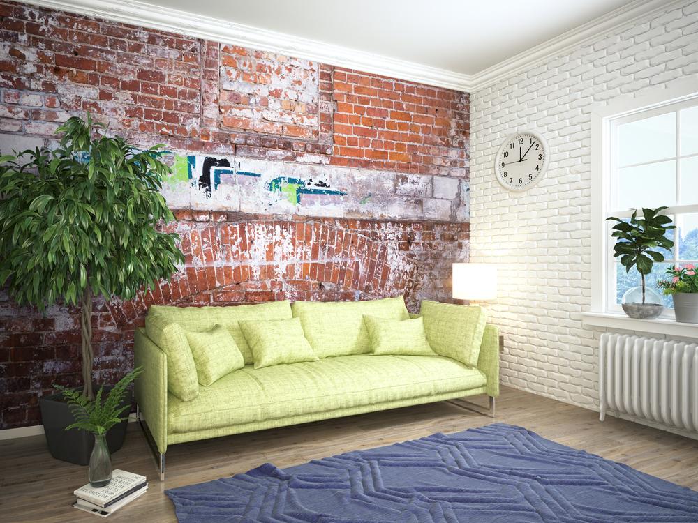 Комбинирование Обоев в Гостиной, Варианты Правильного Дизайна Интерьера Зала