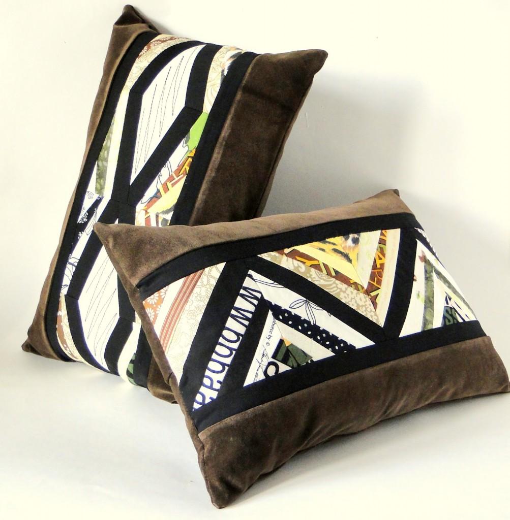 Подушки в африканском стиле для декорирования интерьера