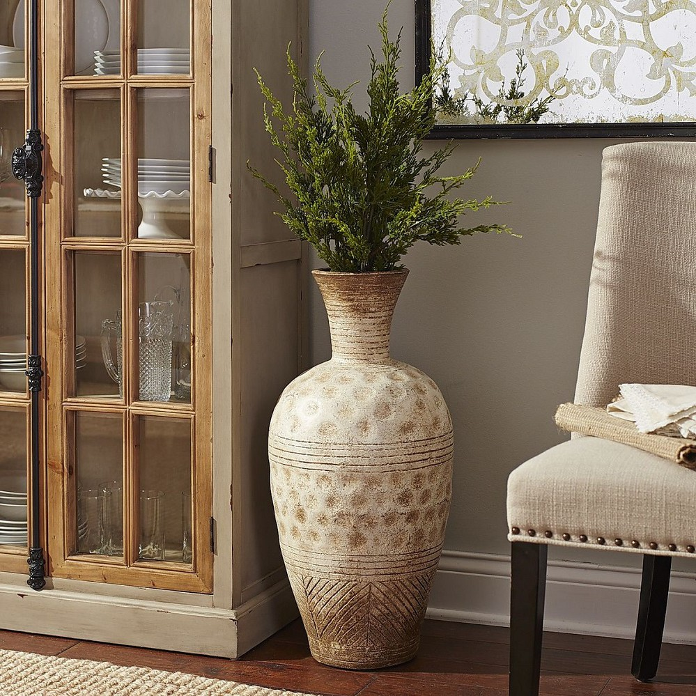 Античная напольная ваза