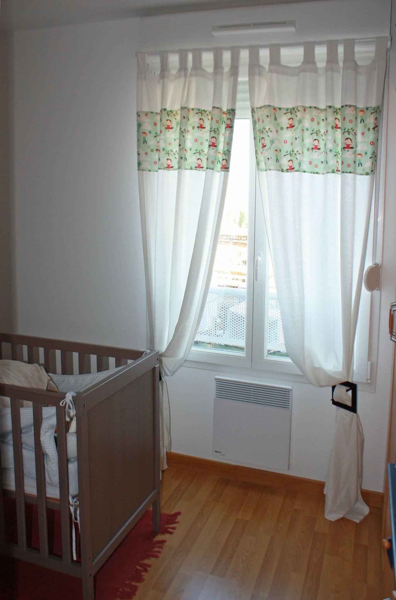 Дизайн штор для детской комнаты белый