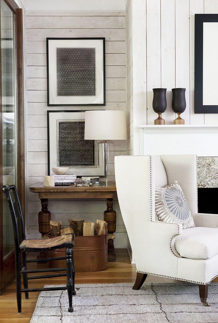 Сочетание коричневого цвета с белым в интерьере