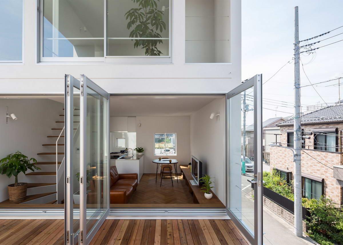Терраса частного дома