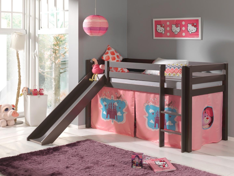 Двухъярусная детская кровать чердак