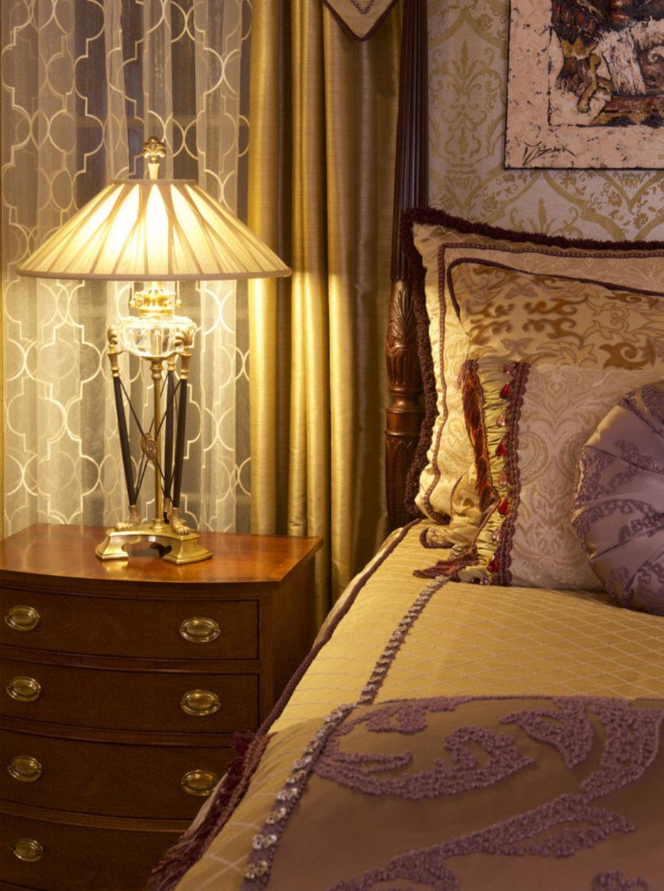 Прикроватный светильник в классическом стиле
