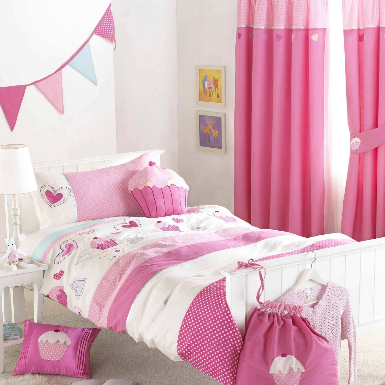 Дизайн штор для детской комнаты девочки