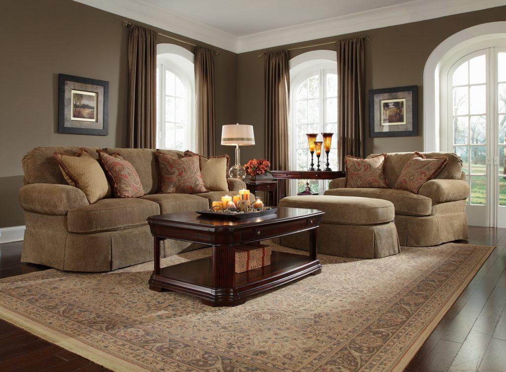 Мини диваны для гостиной в стиле кантри