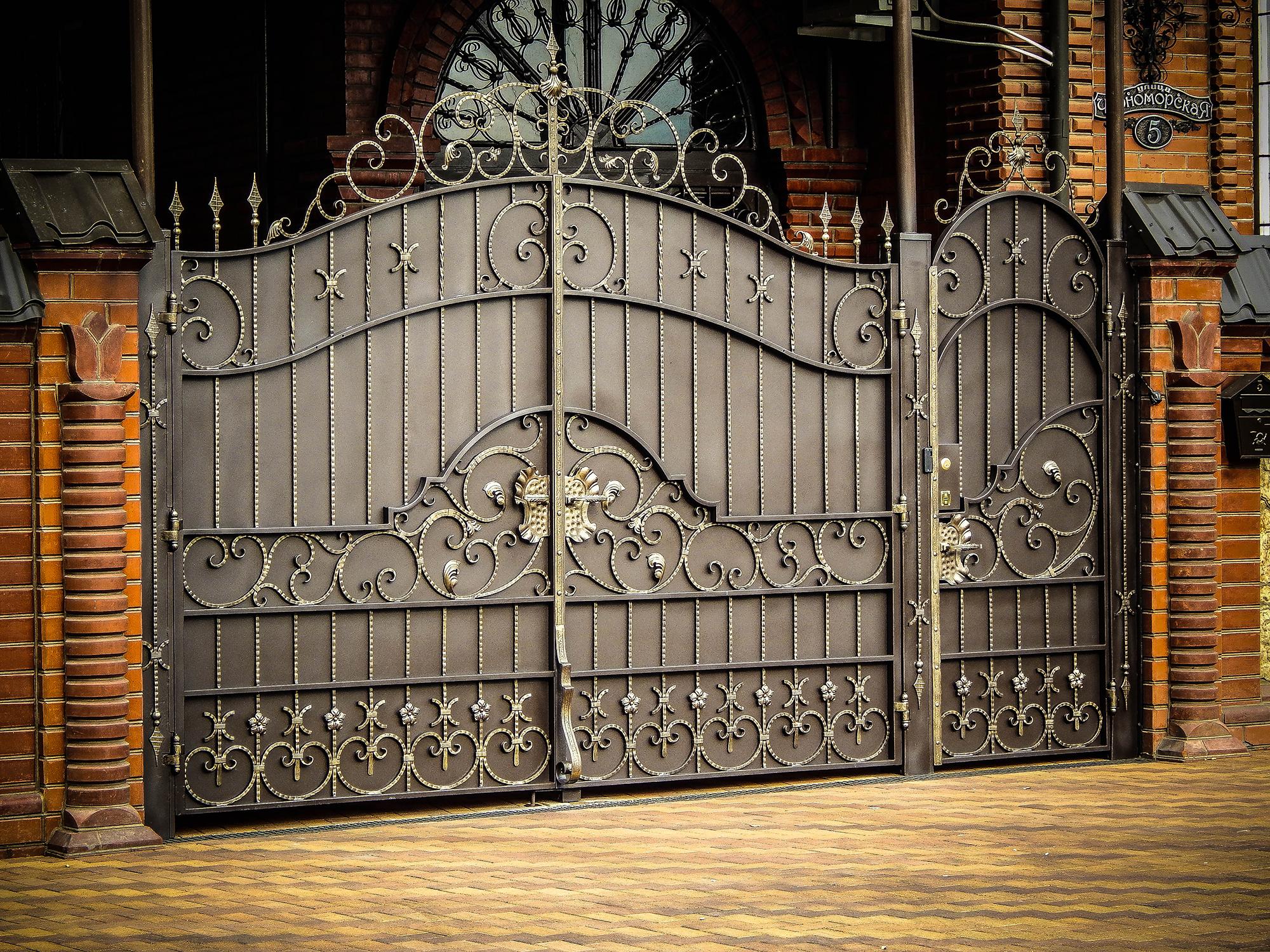 Качественные кованые ворота