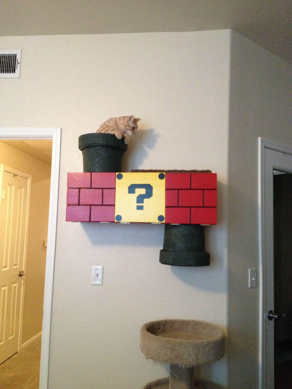Игровой комплекс на стене для кошки