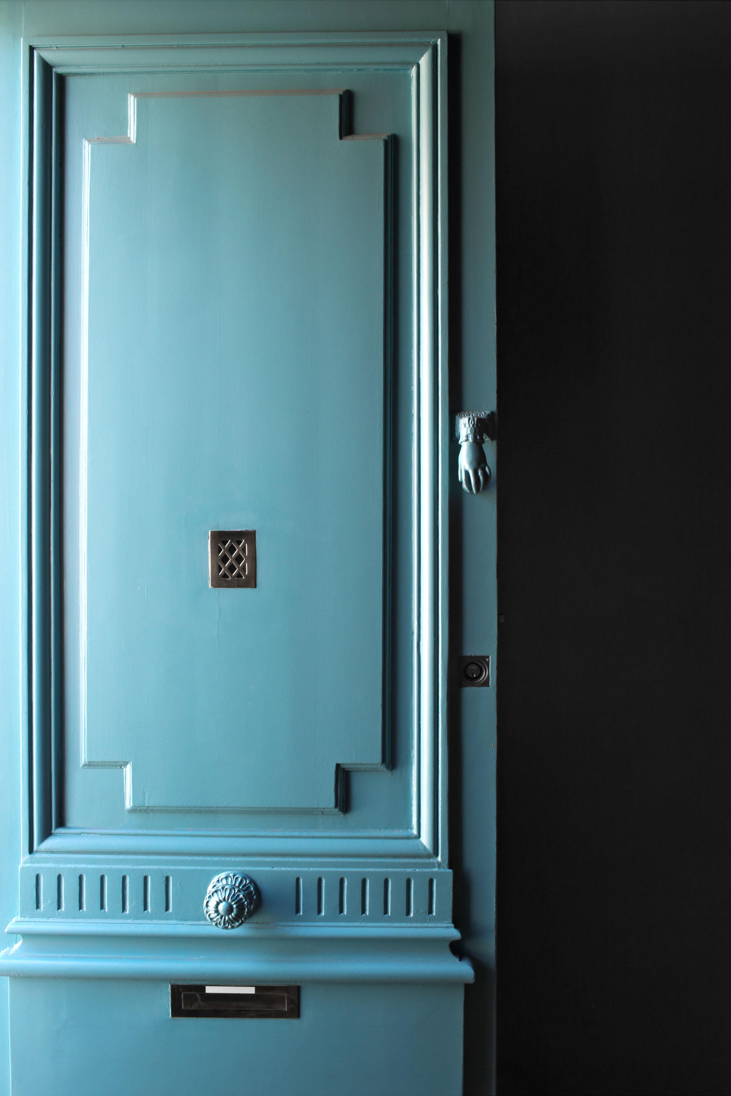 Бирюзовая дверь