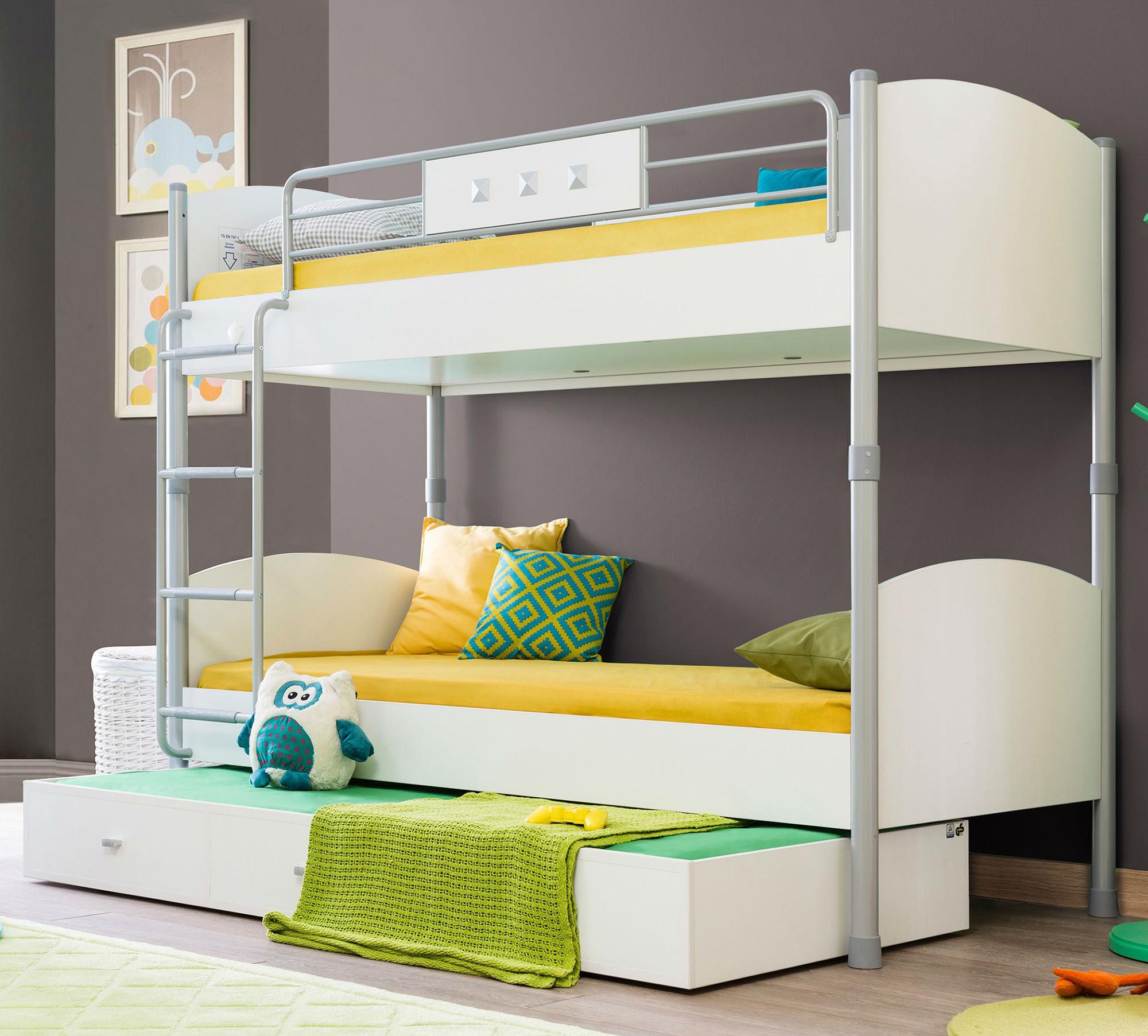 Красивые двухъярусные детские кровати (63 фото)
