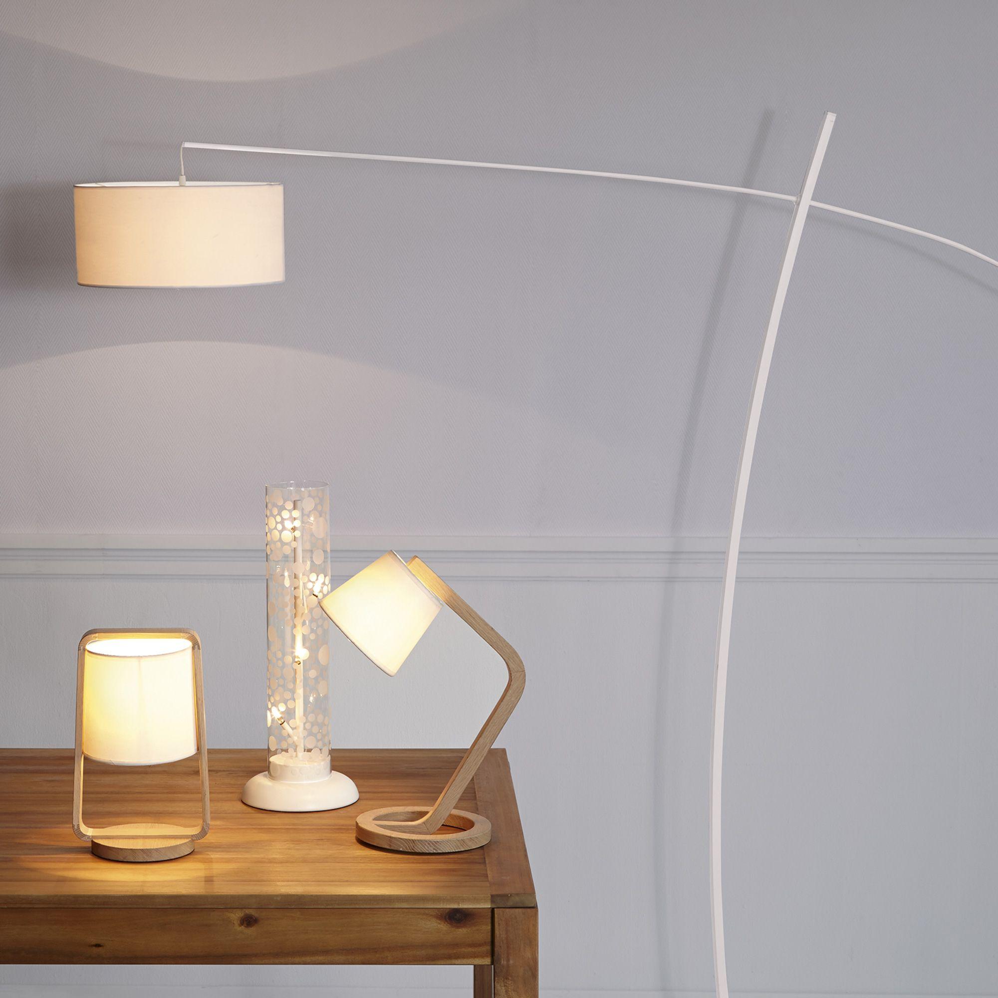 Прикроватный светильник в стиле эко