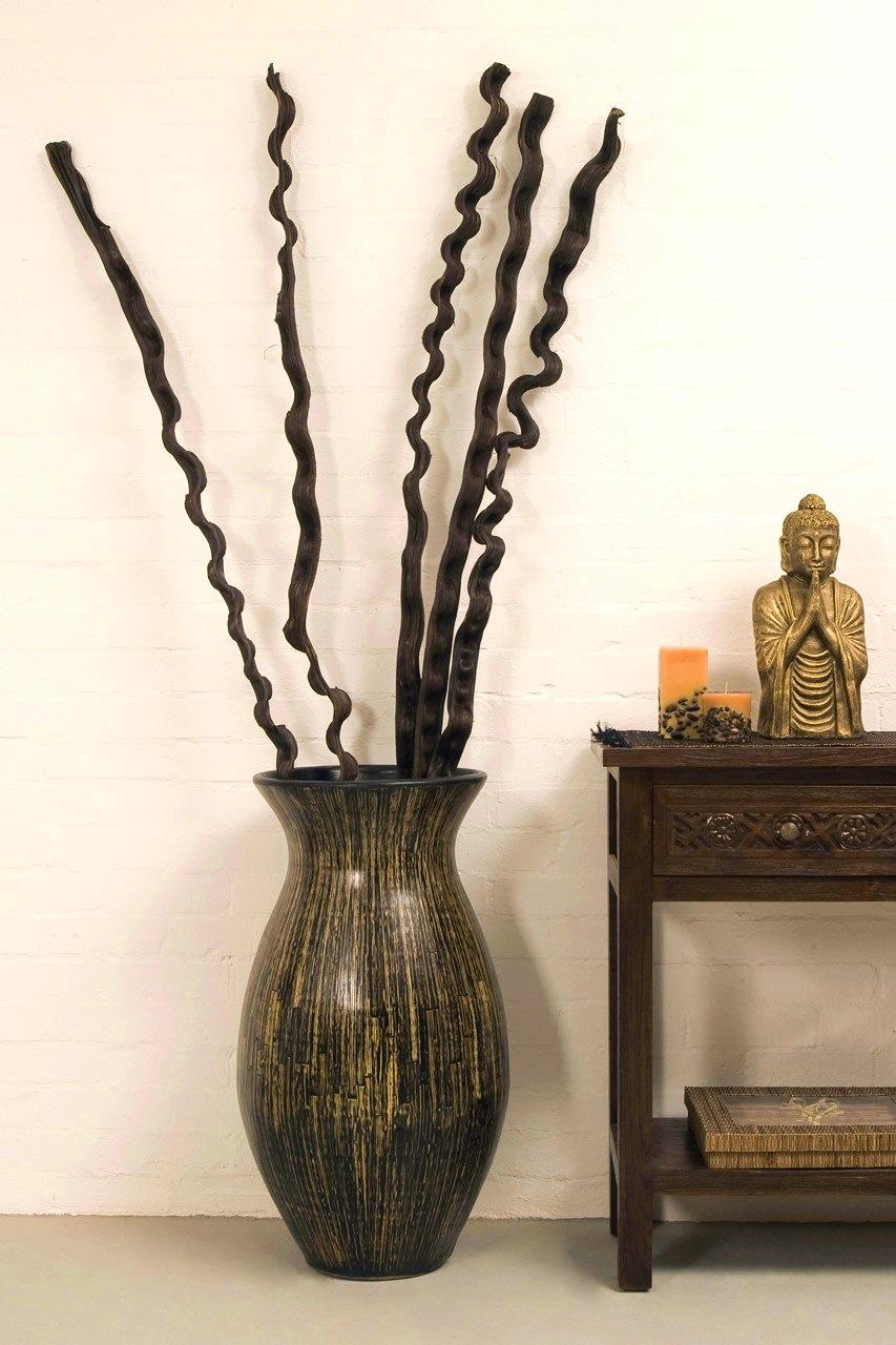 Напольная ваза в стиле этно