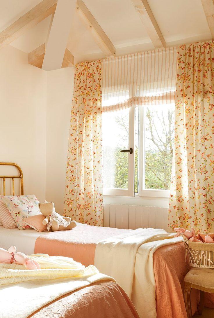 Дизайн штор для детской комнаты французский