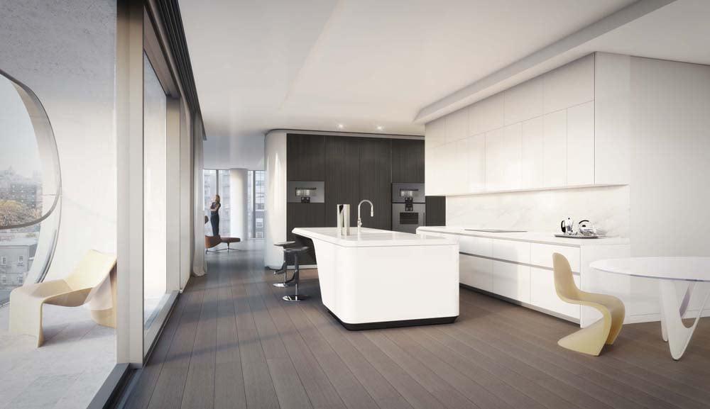 Практичный интерьер кухни