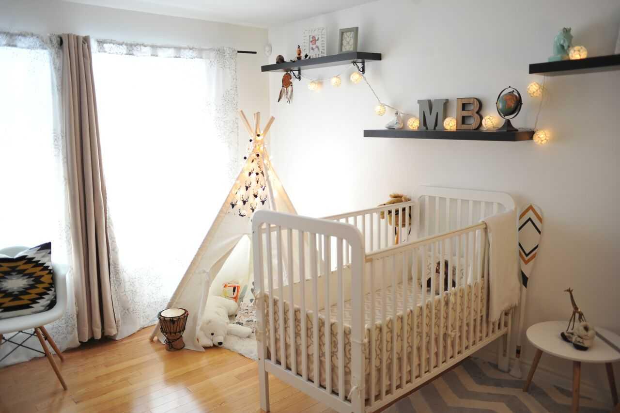 Дизайн штор для детской комнаты в интерьере