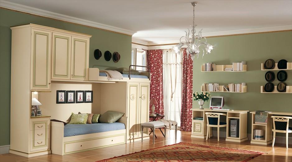 Детская комната в итальянском стиле