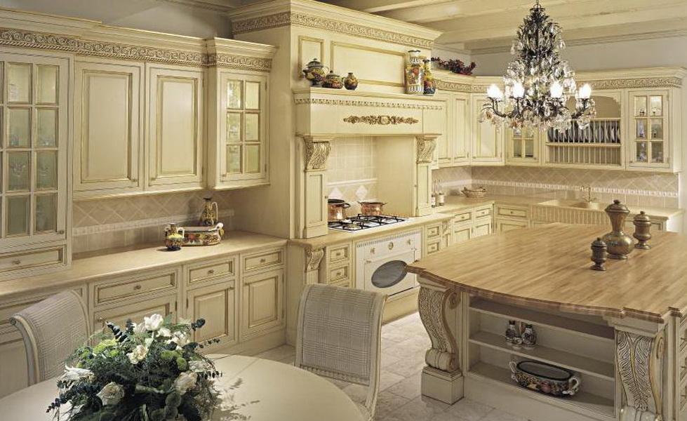 Кухня в классическом итальянском стиле