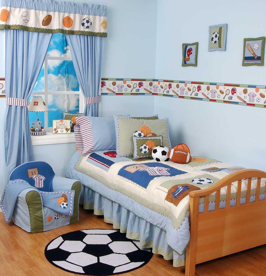 Дизайн штор для детской комнаты в стиле кафе