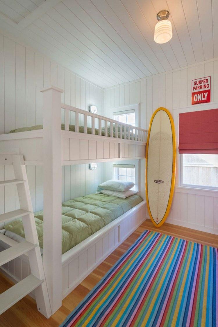 Двухъярусная детская кровать кантри
