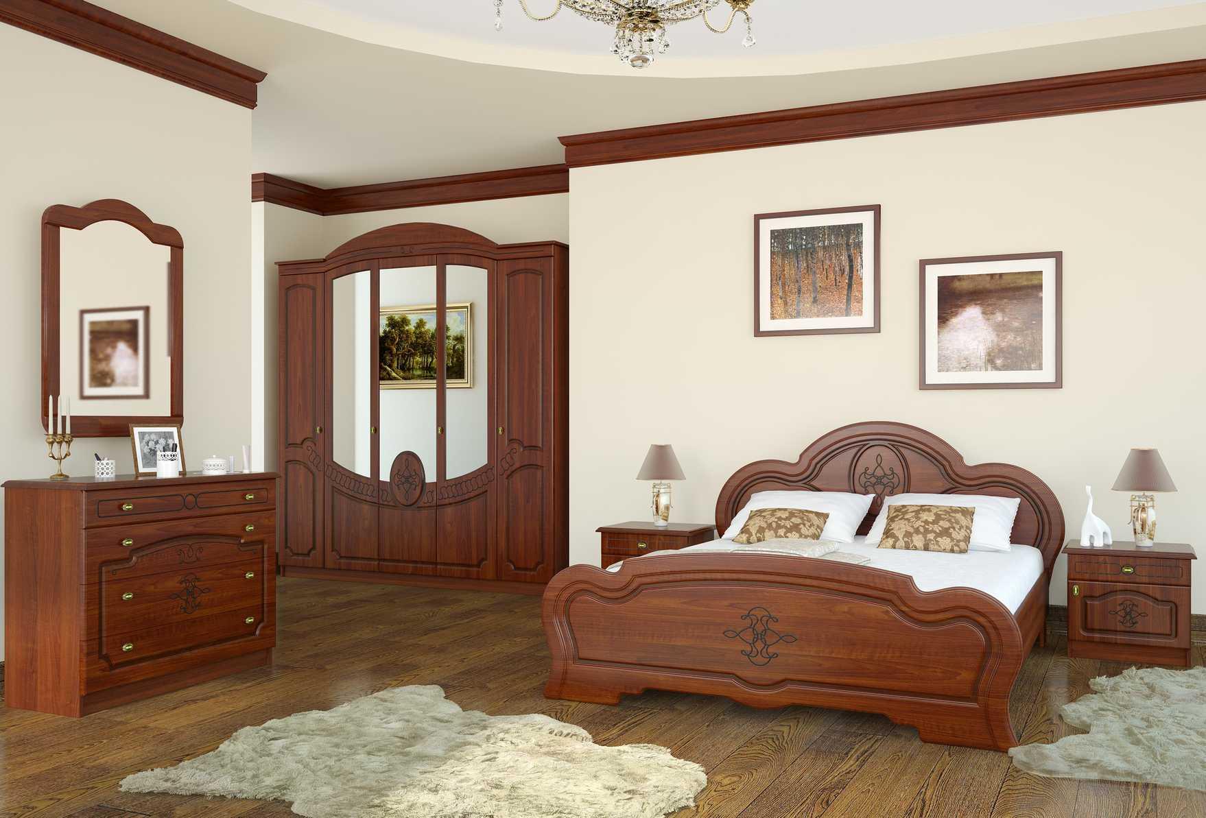 Картины с изображениями природы в спальне